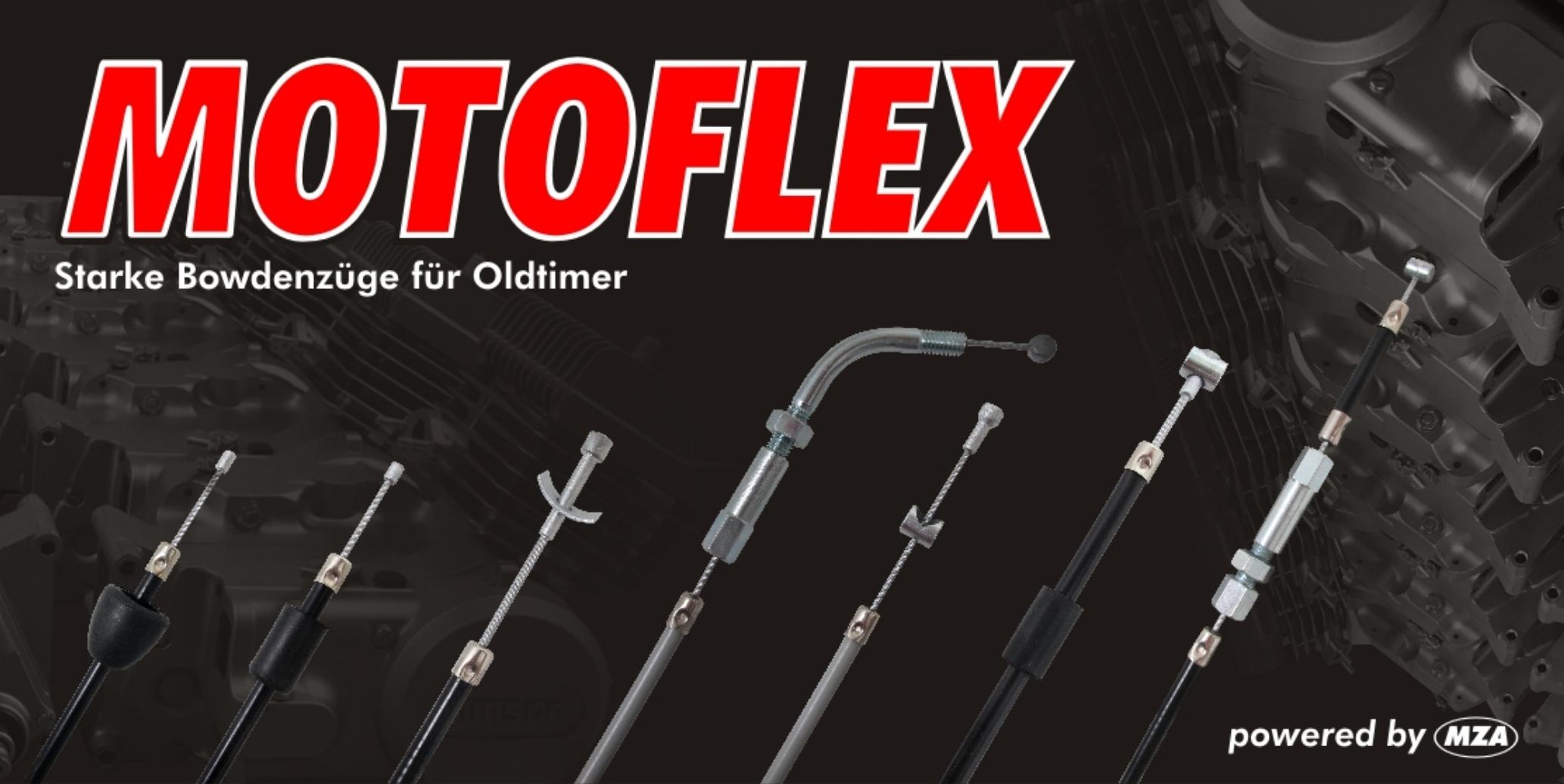 Bowdenzüge Motoflex